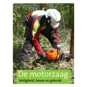De motorzaag veiligheid, bouw en gebruik